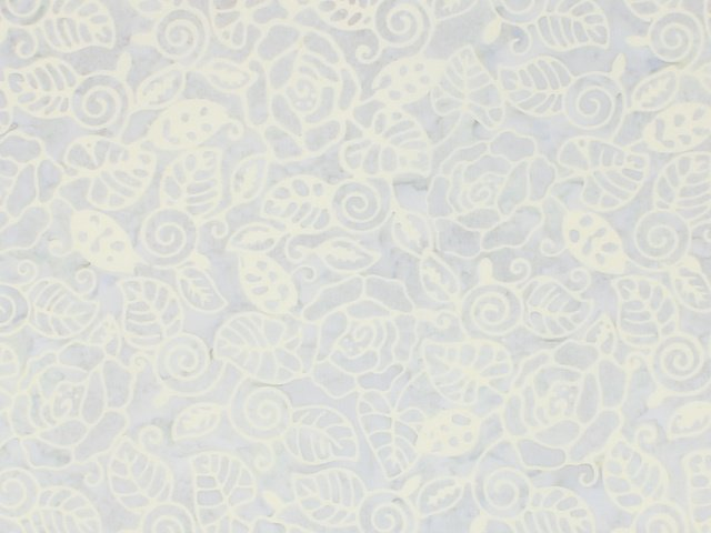 Komo Batik Light Blue Swirls