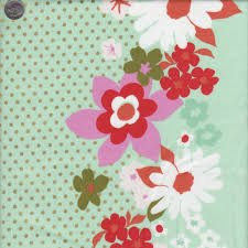 Cotton + Steel - Mustang Floral Mint