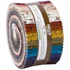 Mill Pond Jelly Roll - 40 pieces