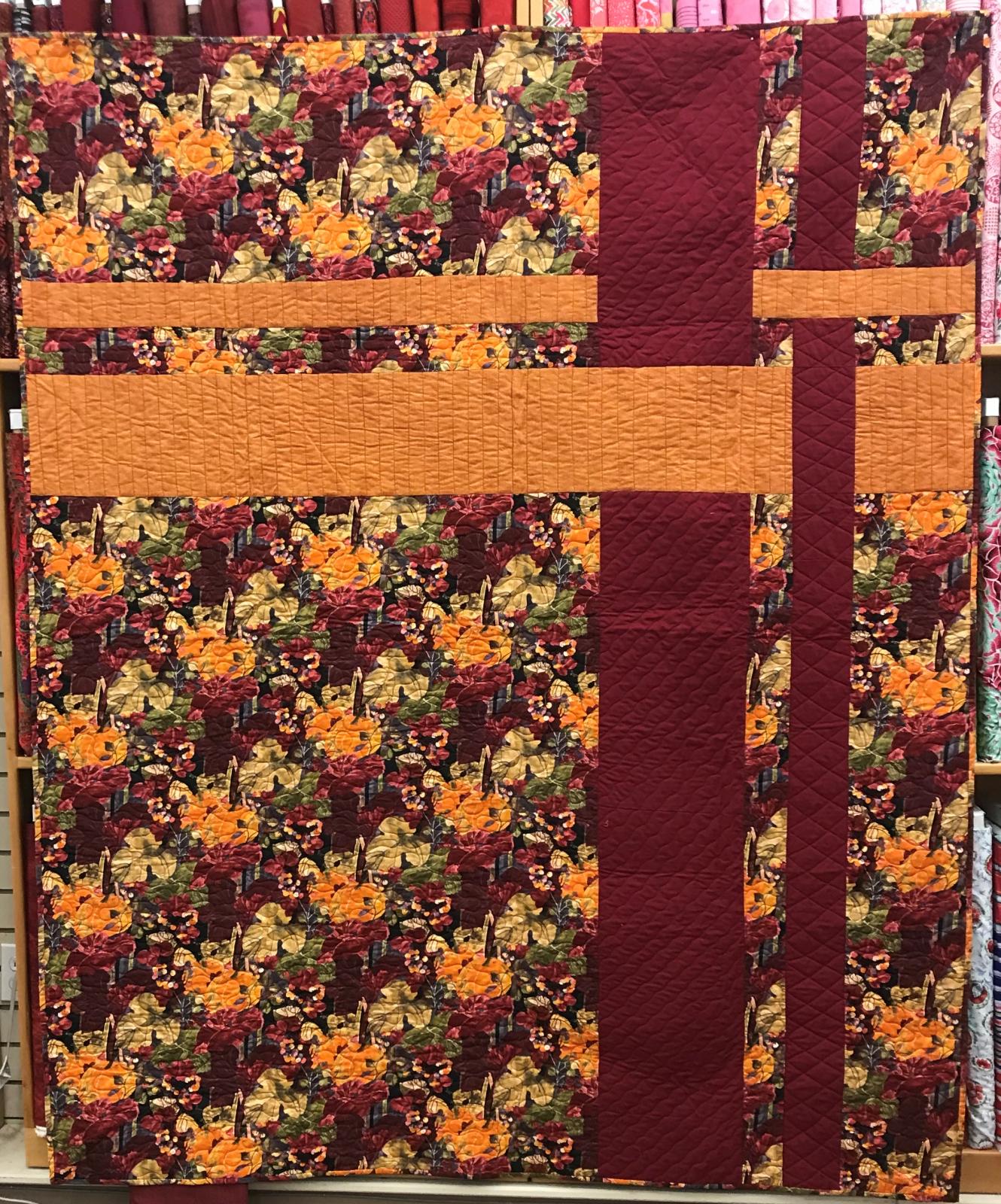Fall Quilt 77'x63'