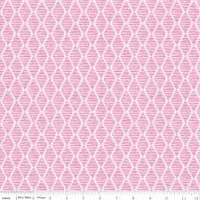 Fruitful Pleasures-Geometric Pink