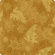Holiday Flourish Gold Metallic Leaves