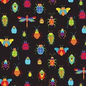 Bugs & Critters - Black
