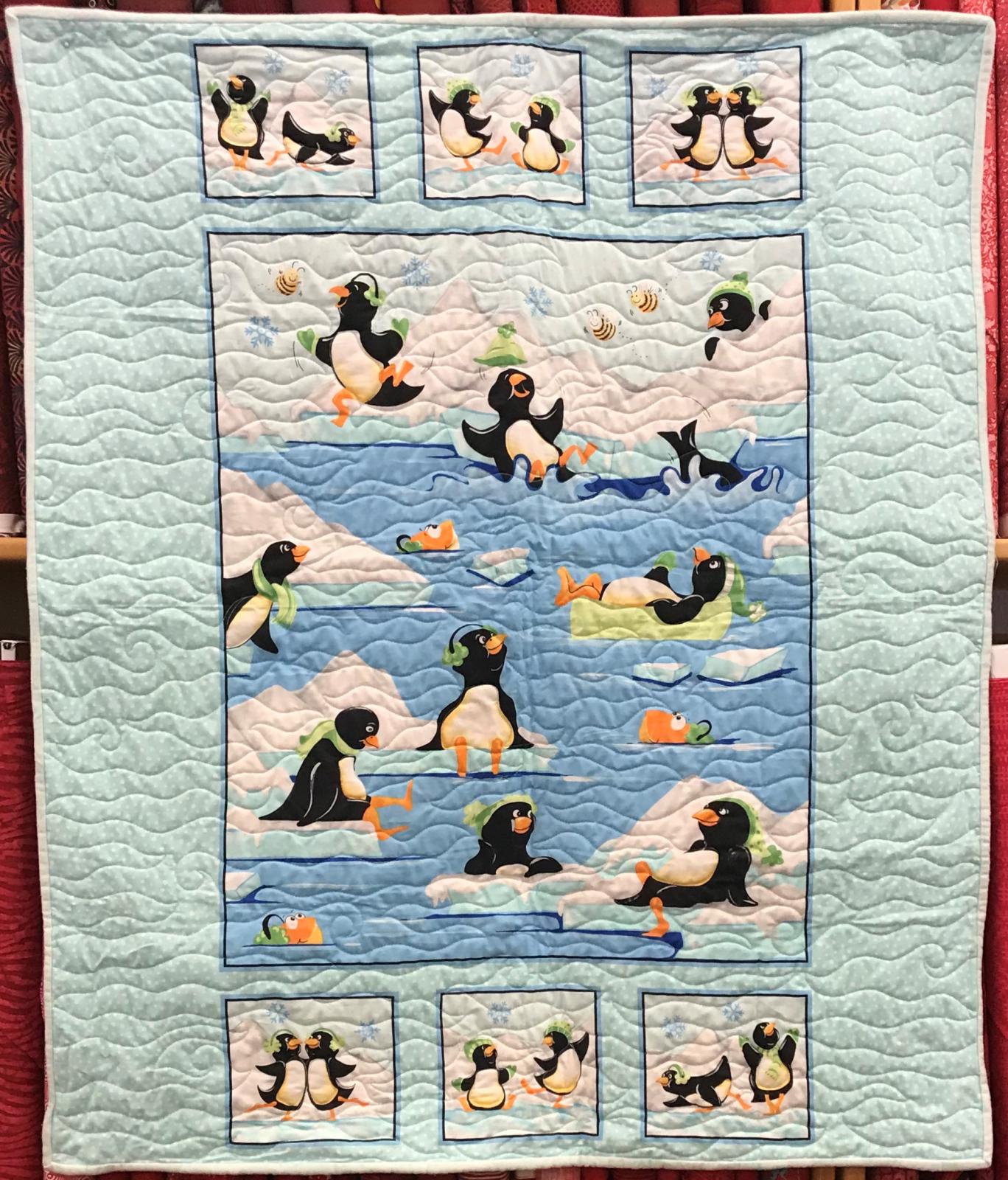 Penguin Quilt 34'x41'