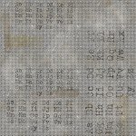 Tim Holtz - Memoranda - Font - Multi