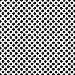Basically Black & White - Scribble Dots