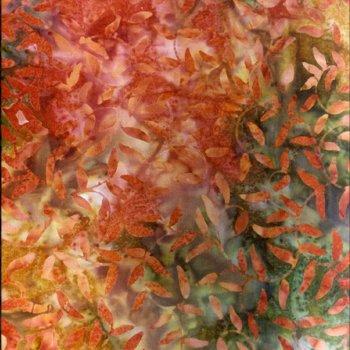Batik - Vine Oak Leaf - Extra Wide - 110