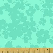 Modern Quilt Back -108 - Turquoise