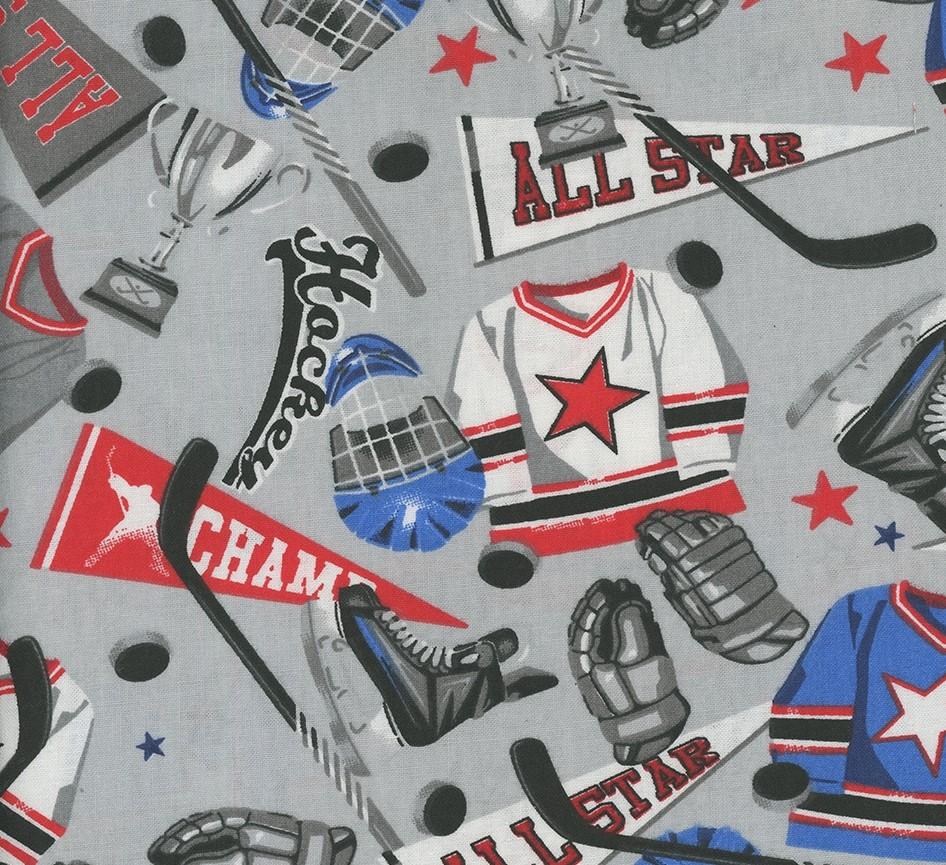 Hockey Gear - Hockey Gear Grey Cotton