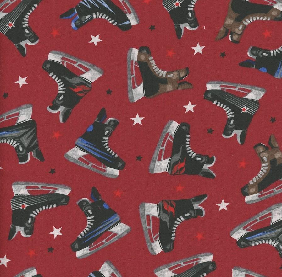 Hockey Gear - Hockey Skates Wine Cotton