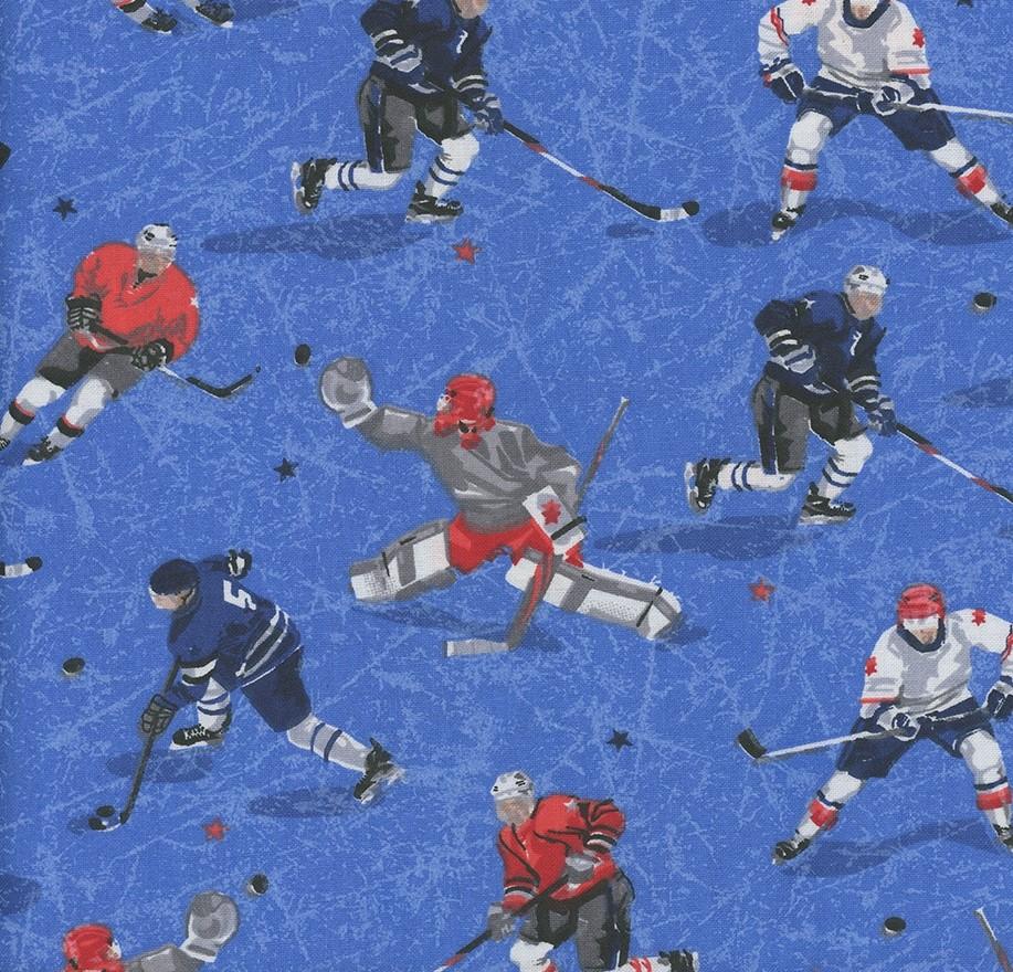Hockey Gear - Hockey Players Blue Cotton