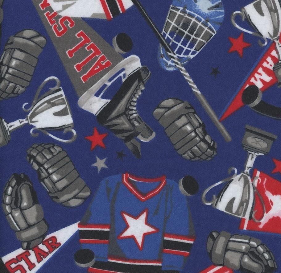 Hockey Gear - Hockey Gear Navy Flannel