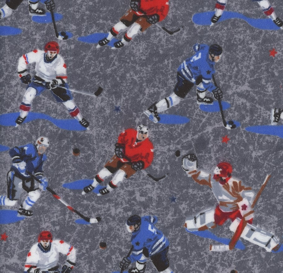 Hockey Gear - Hockey Players Grey Flannel