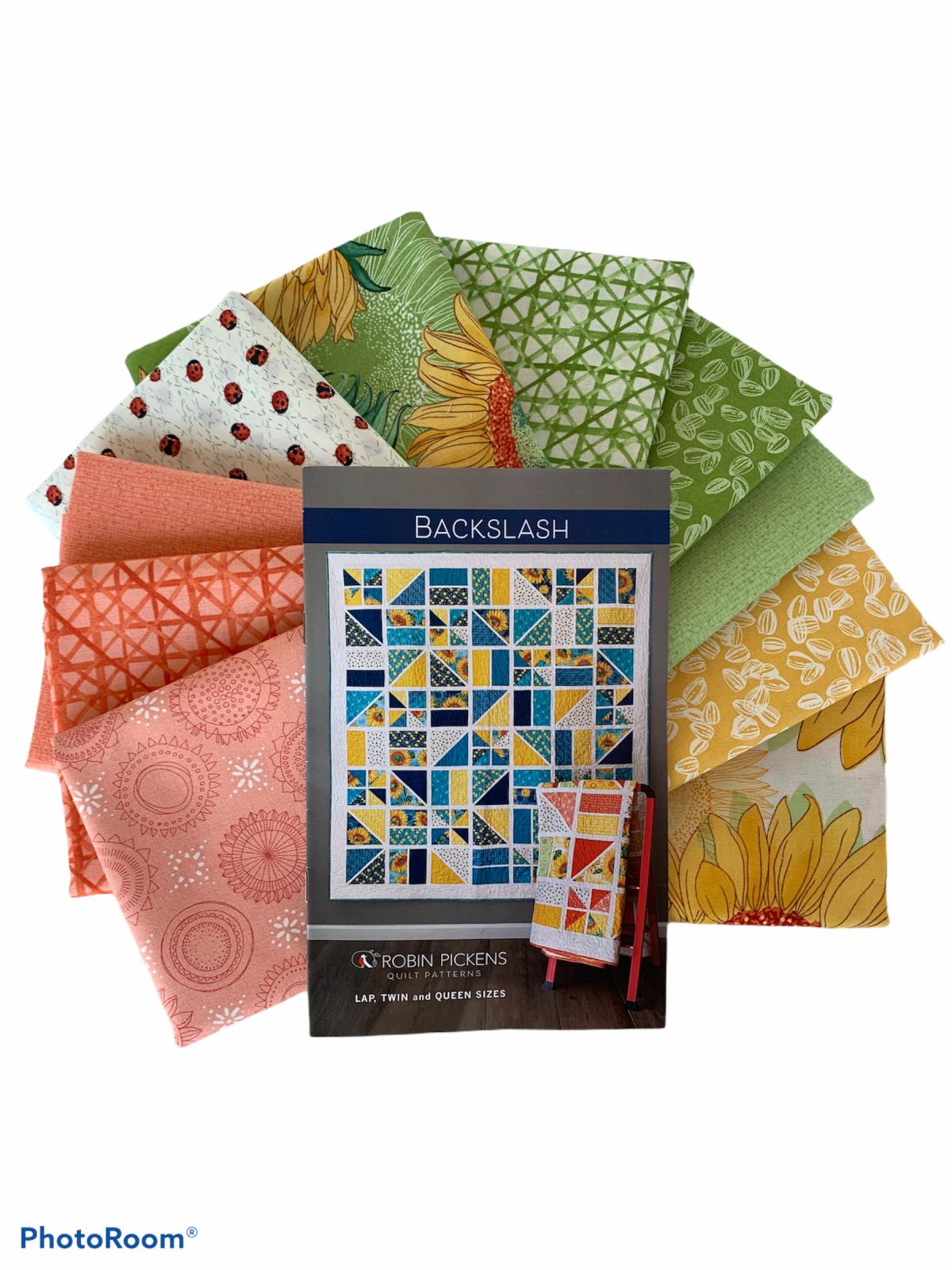 Blacksplash Quilt Kit - Lap Size