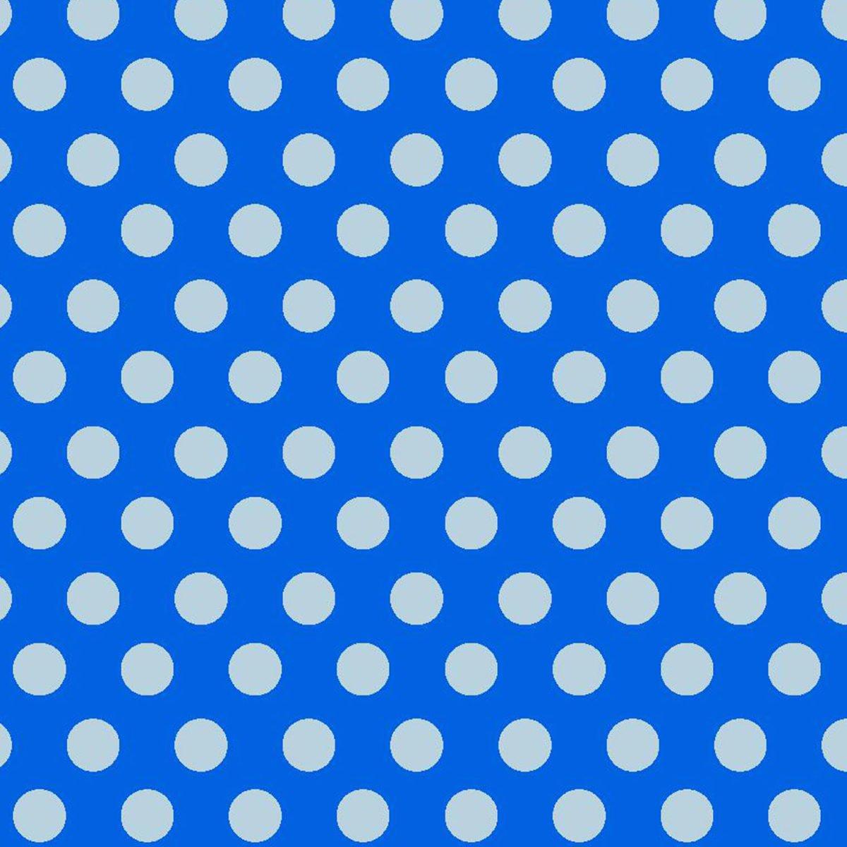 Fun Flannel - Blue Dots