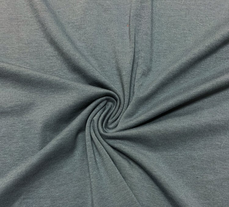Hudson Cotton/Tencel Modal/Spandex Knit Fabric - Steel