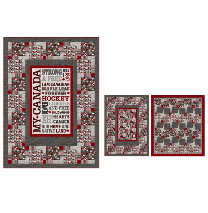 Our Canada Quilt Pattern