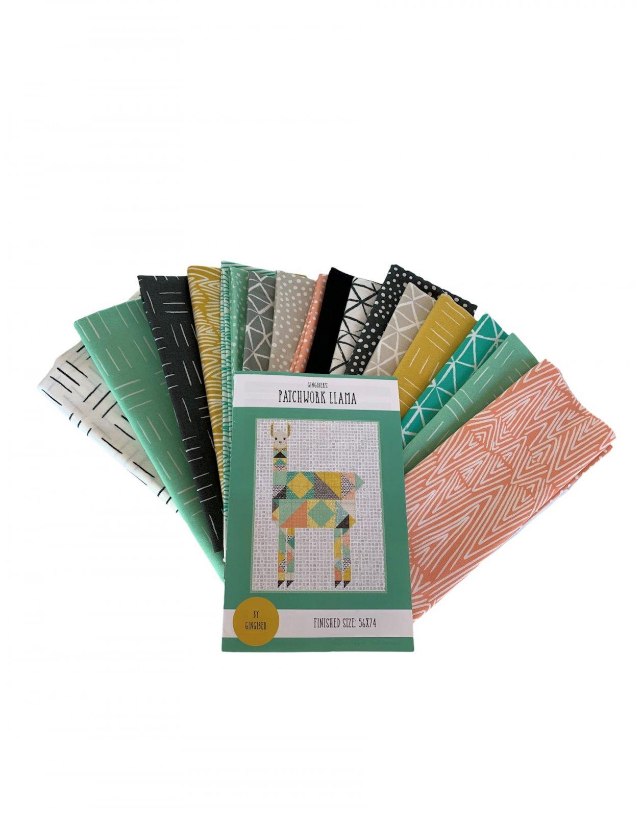 Patchwork Quilt Llama Kit