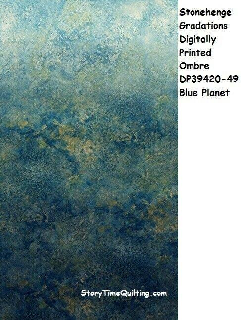 Stonhenge Ombre Blue Planet