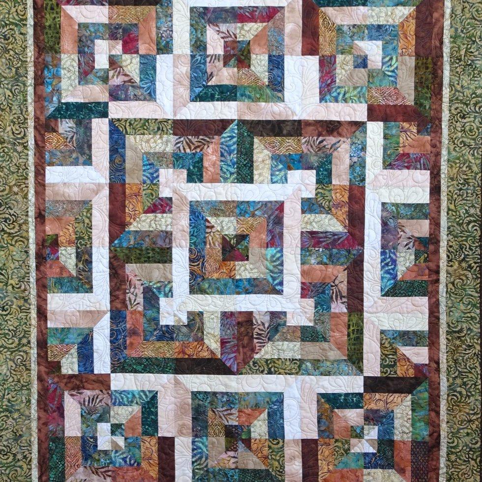 22-224   Woodland Adventure (Optical squares)