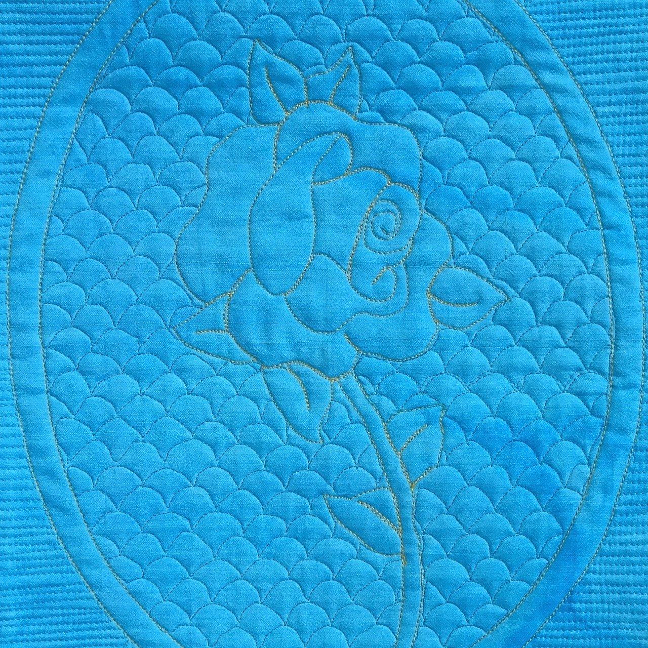 22-190 The Beast's Blue Rose