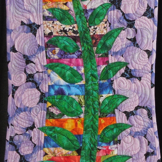 22-289 Violet and Vines