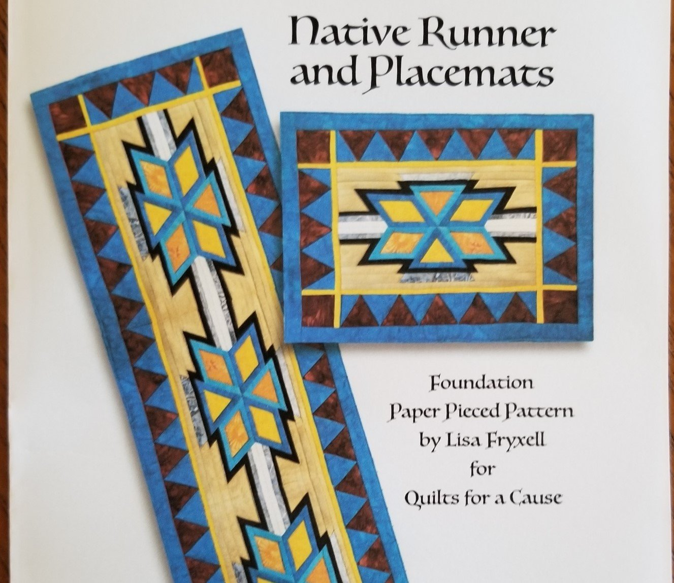 Native Runner and Placemats - Digital Download