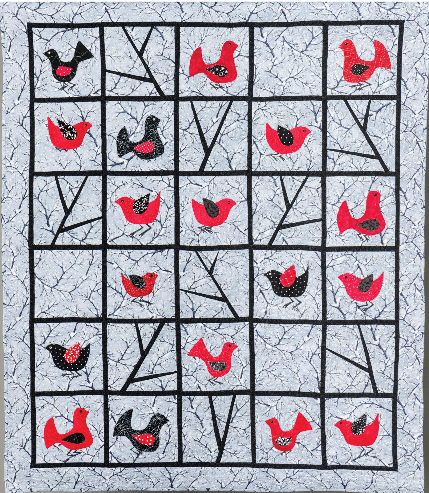 Happy Birds by Evelyn George, Ruth Martin and Elaine Romanelli