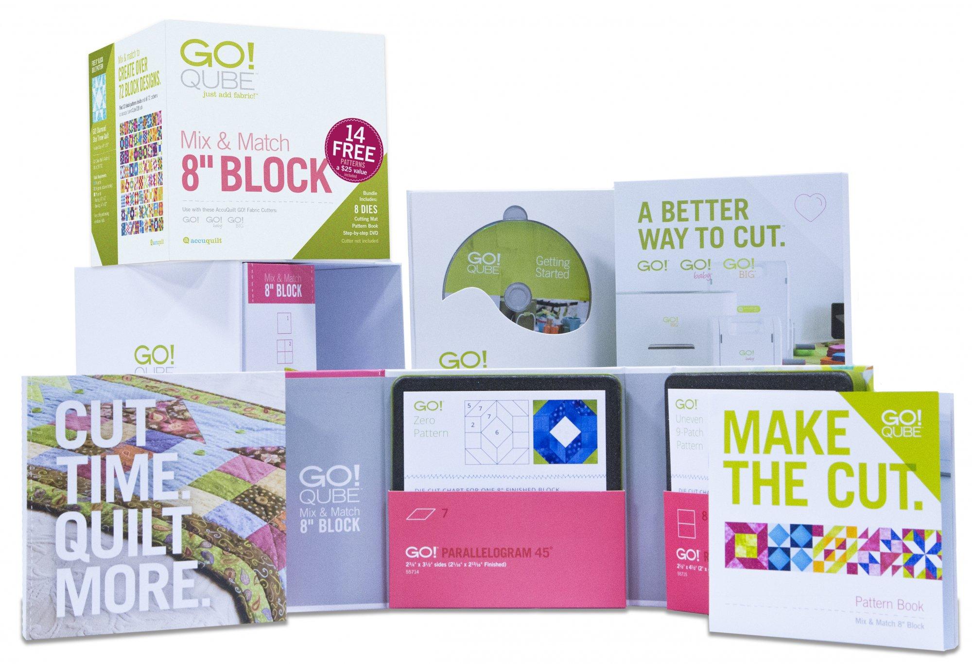Go! Qube Mix & Match 8 Block-55776