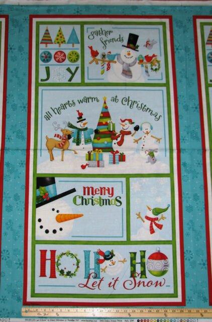 Ho-Ho-Ho Christmas Panel