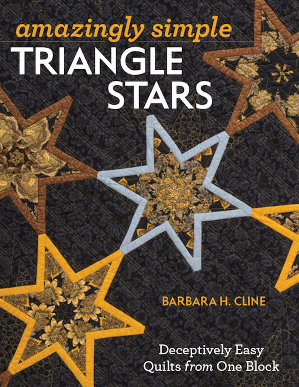 Amazingly Simple Triangle Stars - Softcover