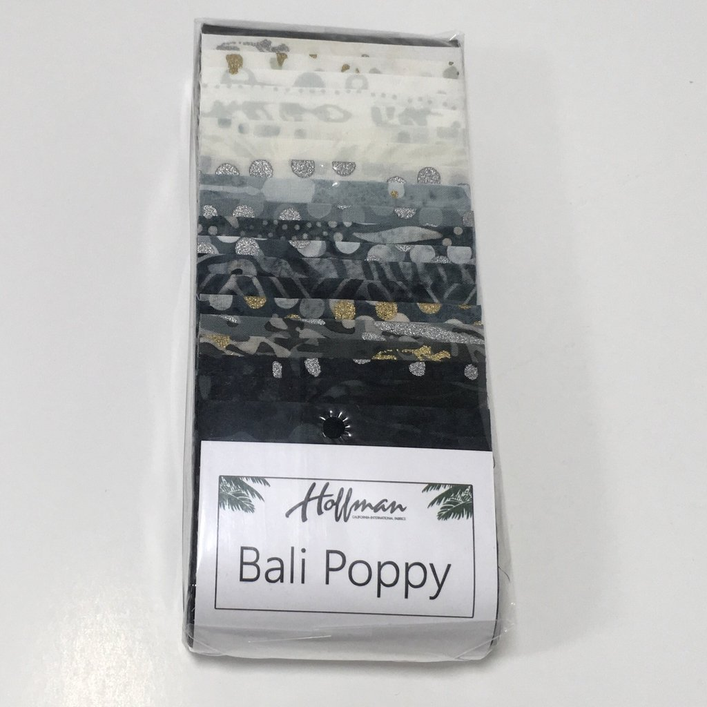 Bali Poppy-Noir