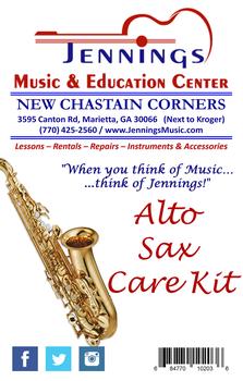 JMEC Alto Sax Care Kit - ASCKL