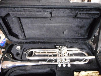 Jupiter Trumpet - 1100S - Silver - Preowned/Like New - UA06285