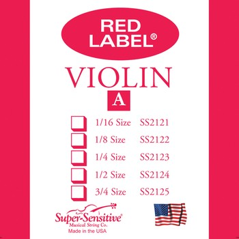 Red Label Violin 3/4 - A single