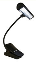 Stageline Deluxe Music Stand Light with adapter - SL-30