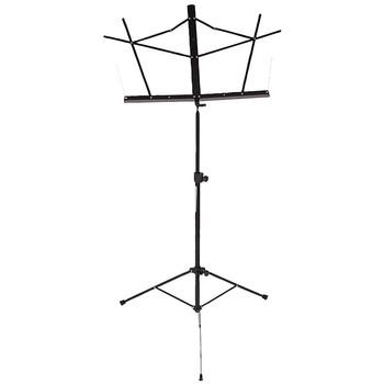 Stageline Music Stand - MS2BK - Black - Black powder coat