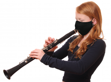Wind Instrument Face Mask