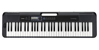 Casiotone CT-S300 Portable Keyboard - Black
