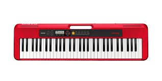 Casiotone CT-S200 Portable Keyboard - Red