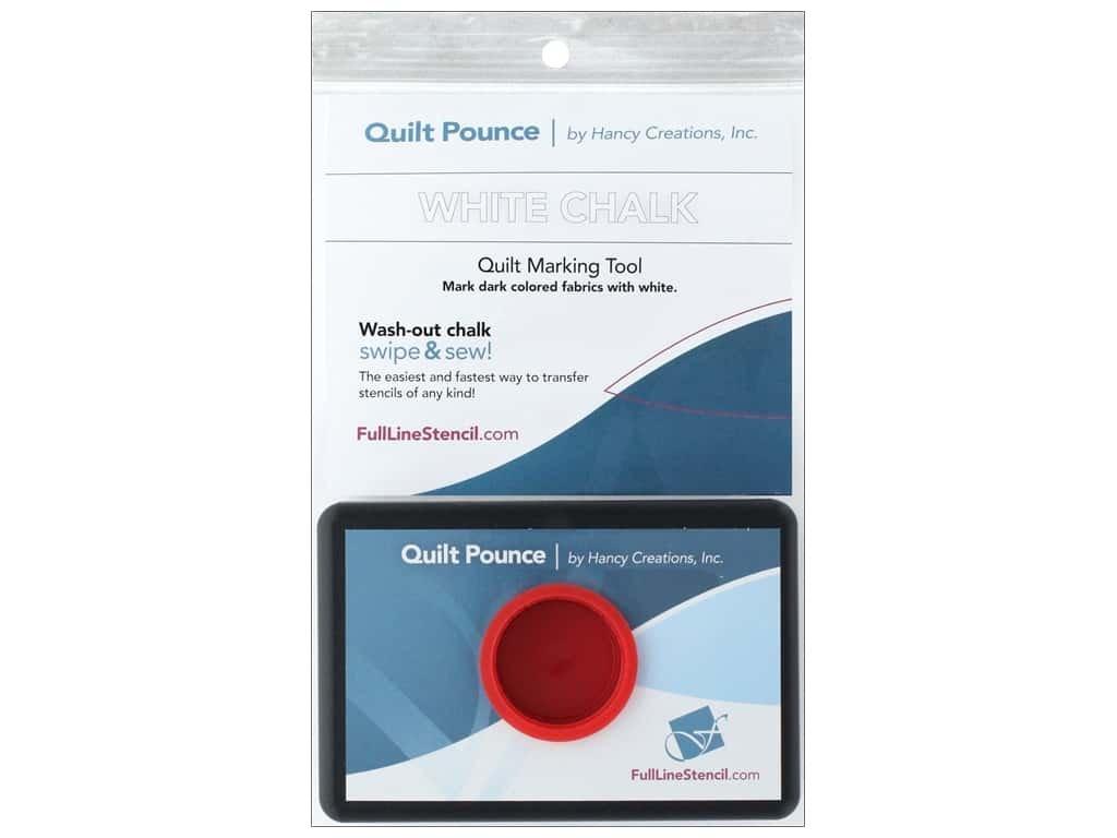 Quilt Pounce Pad | White
