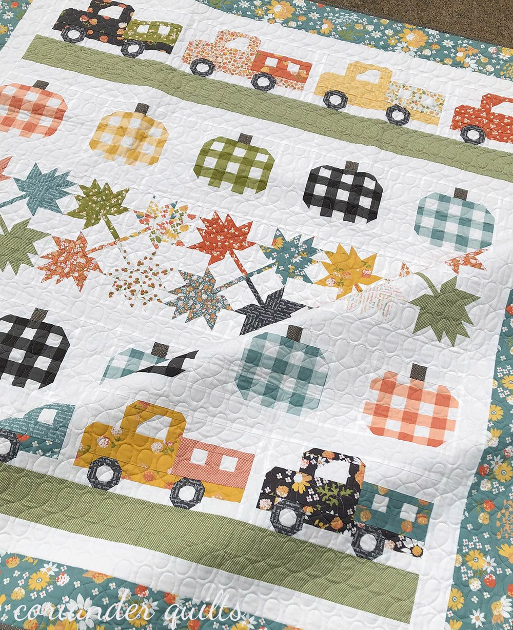 *PRE-ORDER* Roadside Harvest Quilt Kit featuring Cozy Up Fabric by Corey Yoder   Available August 2021