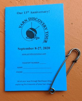 Small Studio Productions 13th Anniversary Yarn Discovery Tour flyer