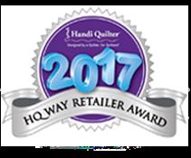 Handi Quilter 2017 HQ Way Award