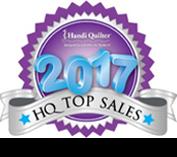 Handi Quilter 2017 Top Sales Award