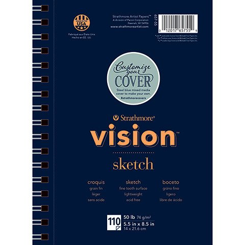 Strathmore Vision Sketch Pad: 5.5 X 8.5 Inches
