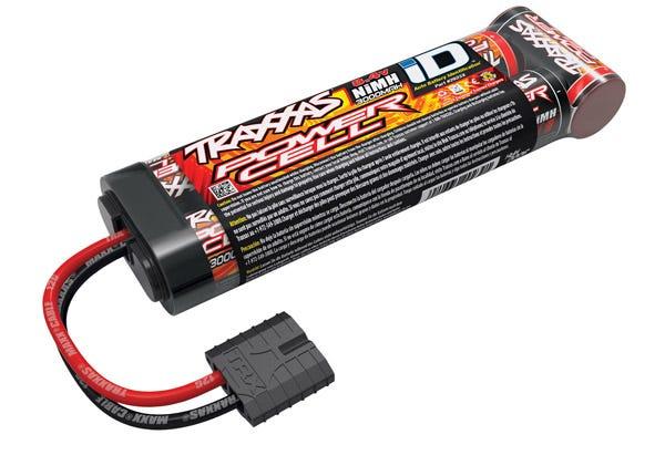 Battery, Power Cell, 3000mAh (NiMH, 7-C flat, 8.4V)