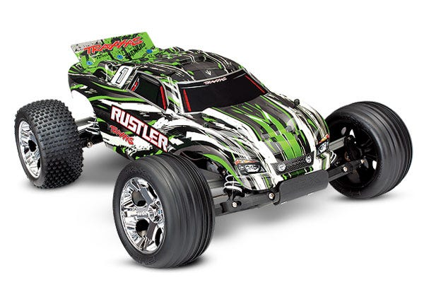 Rustler: 1/10 Scale Stadium Truck.  Ready-To-Race with TQ 2.4GHz radio system and XL-5 ESC (fwd/rev)