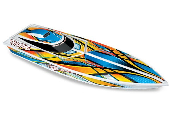 Blast: High Performance Race Boat Orange.  Ready-To-Race with TQ 2.4GHz radio system and Nautica Electronic Speed Control.
