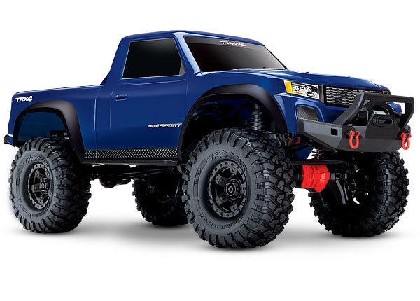 TRX-4 Sport:  1/10 Scale 4WD Electric Truck. Ready-to-Race with TQ 2.4GHz Radio System, XL-5 HV ESC (fwd/rev), and Titan 550 motor.